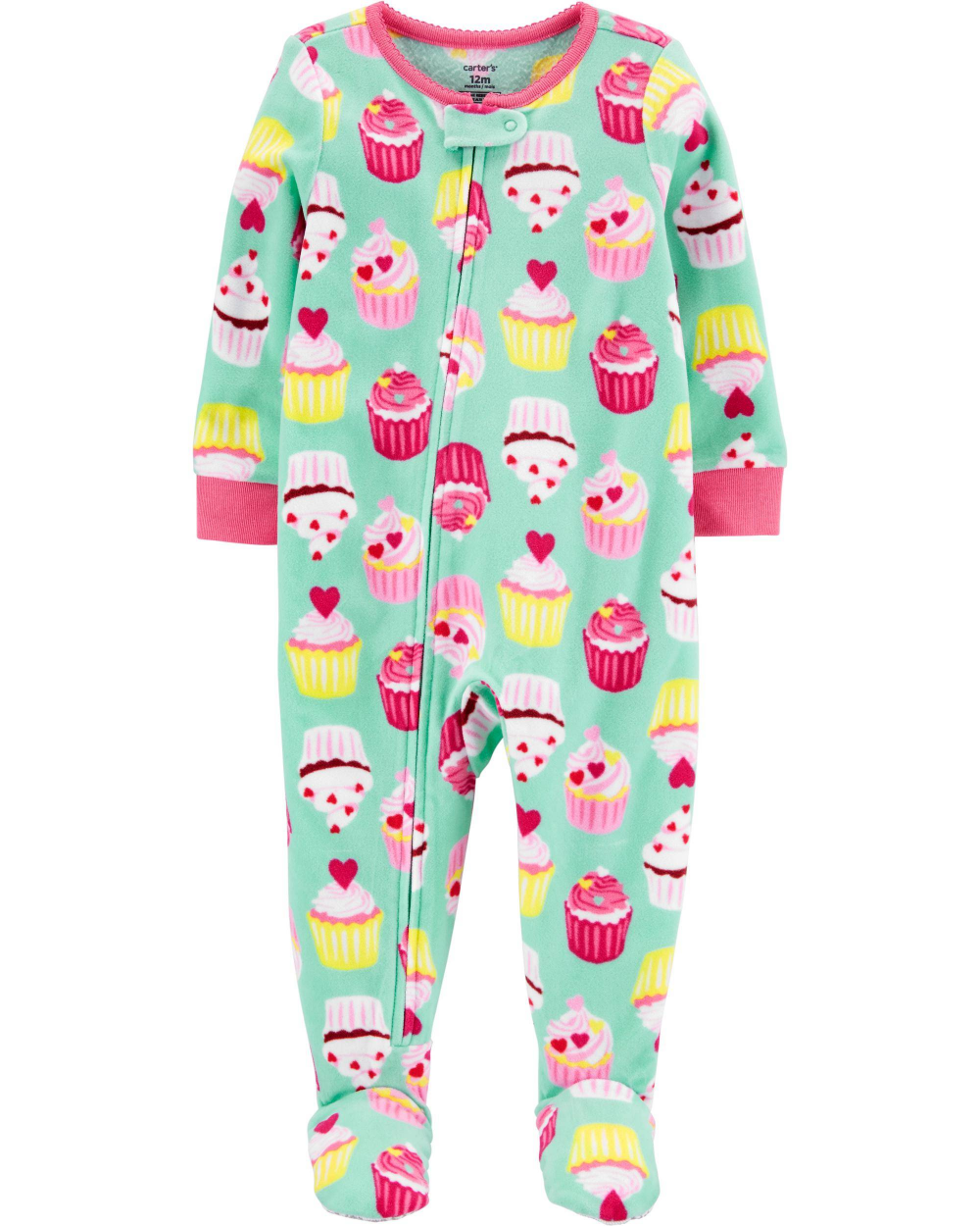 Carter/'s Toddler Girls  Size 24 Months  Sleeper Pajamas    Fairy Princess