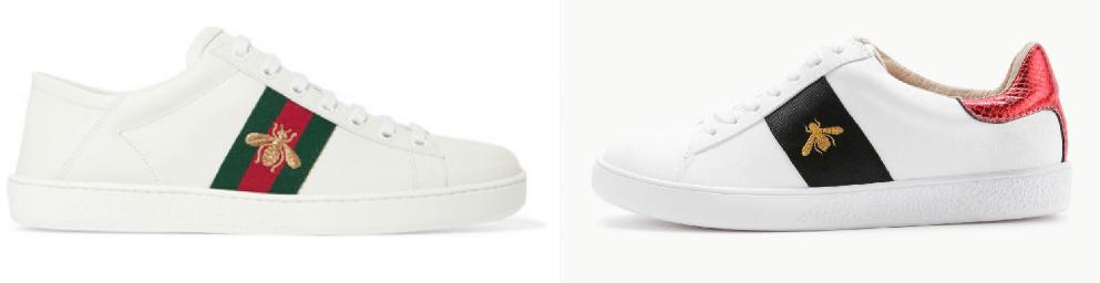 5aa7c78243ef SheIn Designer Shoe Dupes | Designer Dupes | Gucci sneakers ...