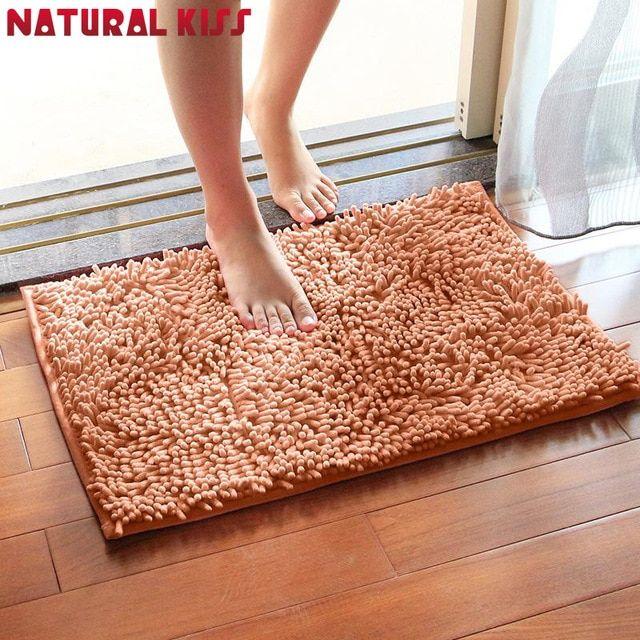 Solid Color Bath Mat For Bathroom Rug Carpet In The Bathroom