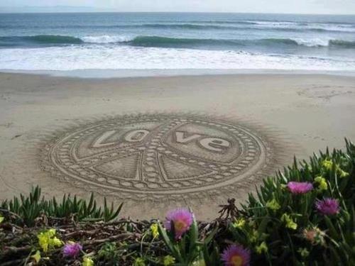 sweet beach art ~ via ciao! newport beach blog