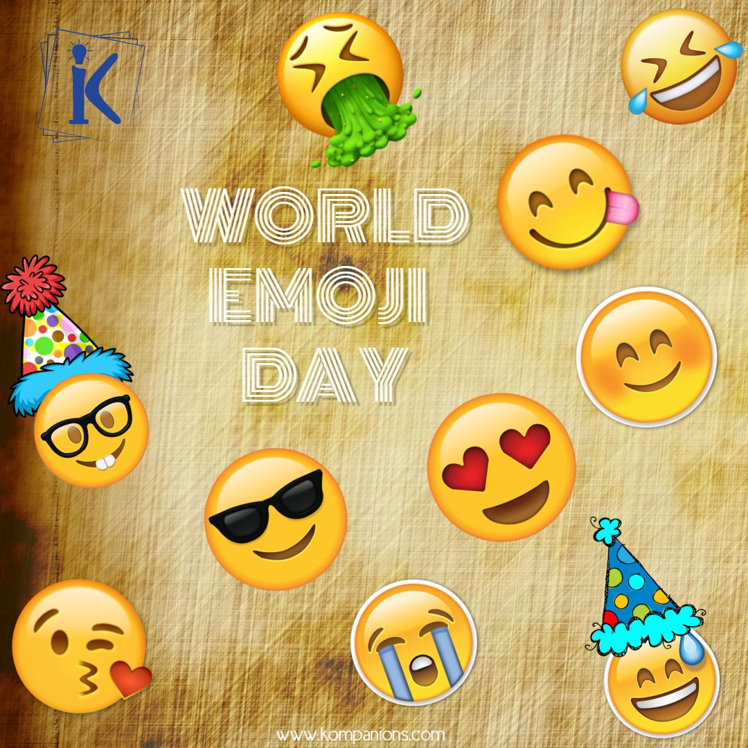 Today the world seems without emojis, they are
