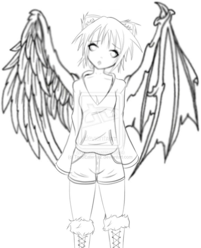 angel and demons drawings - photo #37