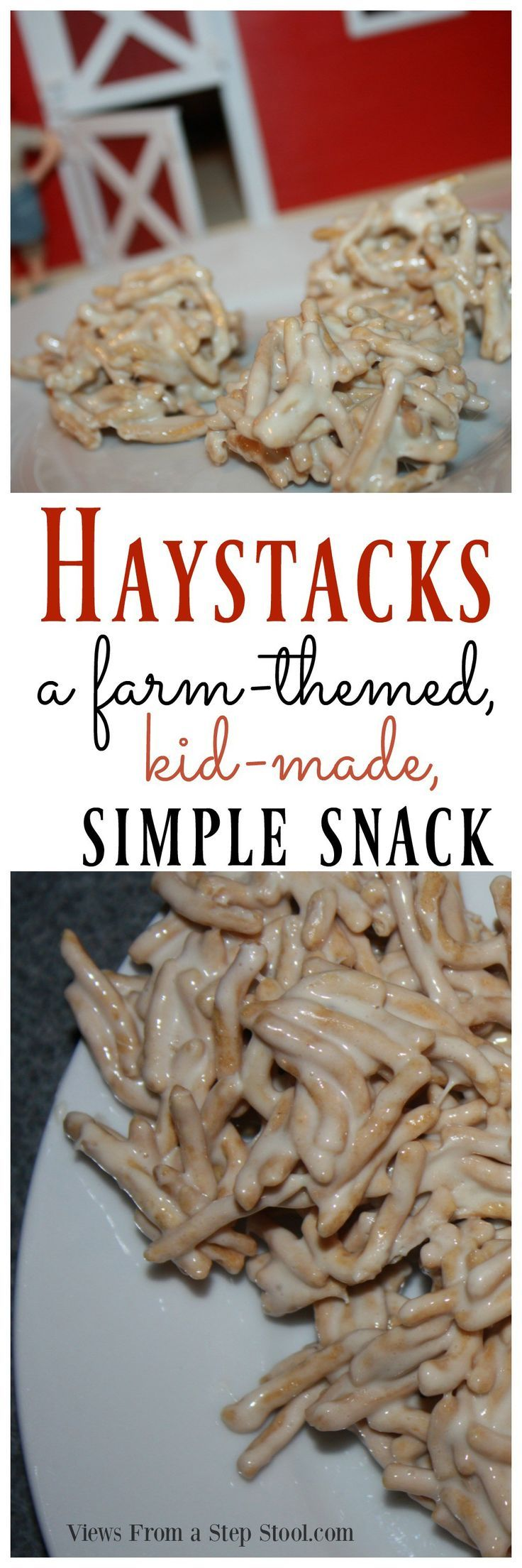 farm animal snacks for preschoolers haystacks snack for farm themed and kid made 905