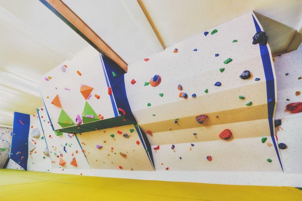 White Spider Climbing Wall Climbing Wall Bouldering Wall Climbing