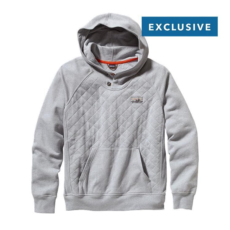 Patagonia Men\'s Reclaimed Cotton Hoody - Feather Grey FEA // Truth to ·  Patagonia HoodiePatagonia ...