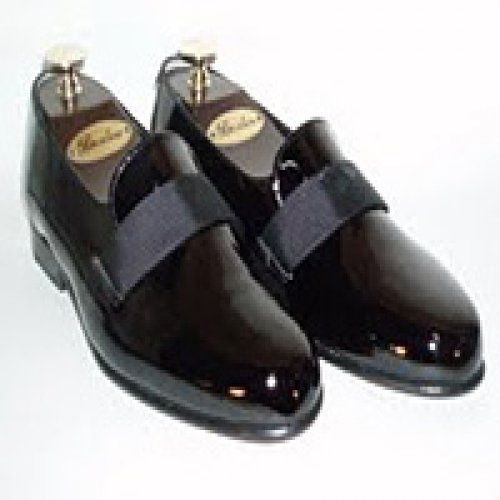 608893a4179 Transit Formal Patent Leather Slip-on Tuxedo Shoes Size 11.5 Wide patent  leather. leather soles. leather uppers. cushioned insoles.   David s Formal Wear   ...