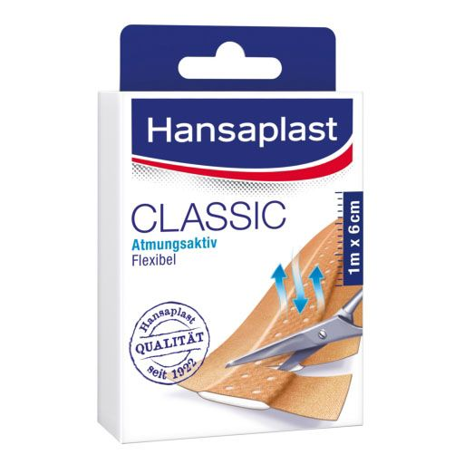 Hansaplast Classic Pflaster 6 Cmx2 M Pflastern Anleitung