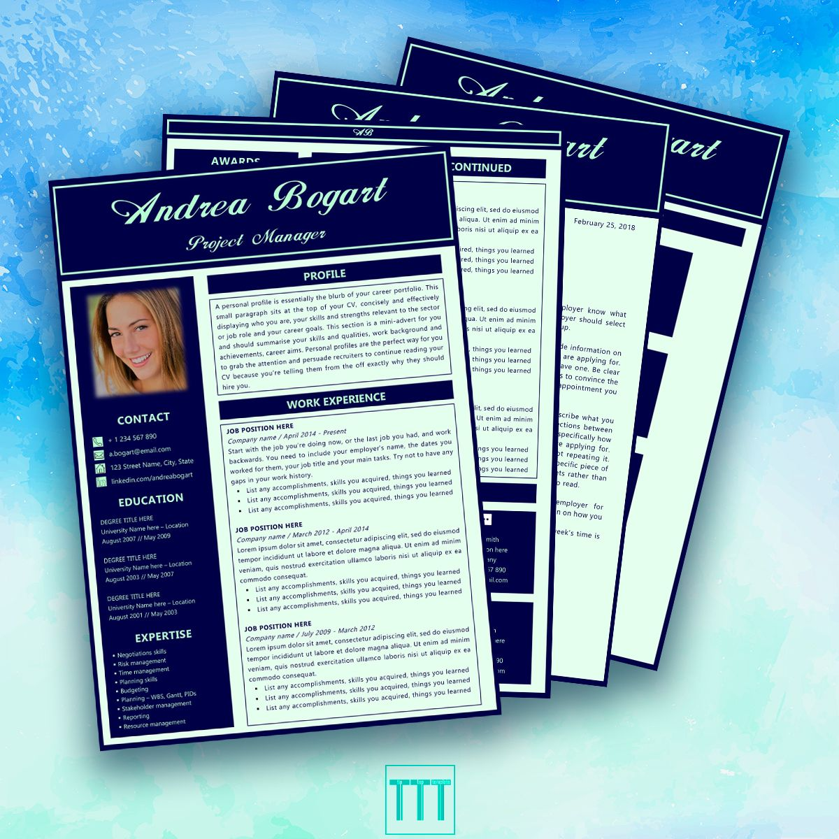 resume template manager by tiptoptemplate creative resume template  creative resume  u2026