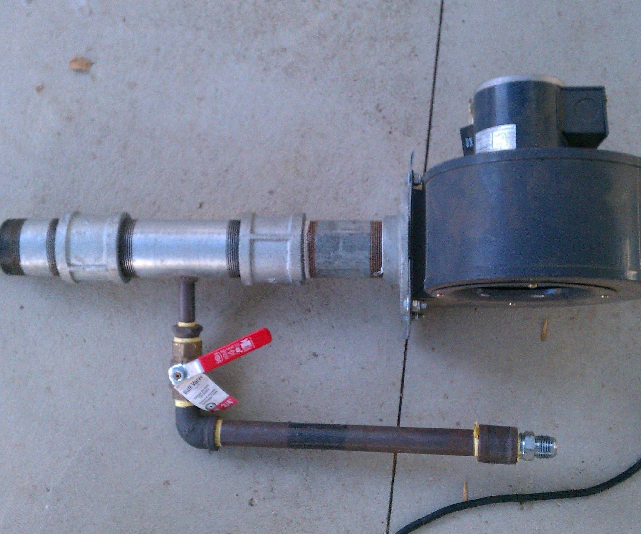 Natural Gas Burner V2 Forge Burner Gas Burners Gas Forge