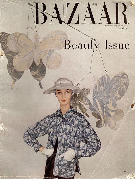 Evelyn Tripp, Harper's Bazaar, April 1954  BY LOUISE DAHL-WOLFE