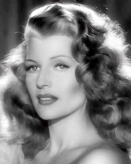 8x10 photo Rita Hayworth, pretty sexy 1930s-1950s celebrity Hollywood movie star