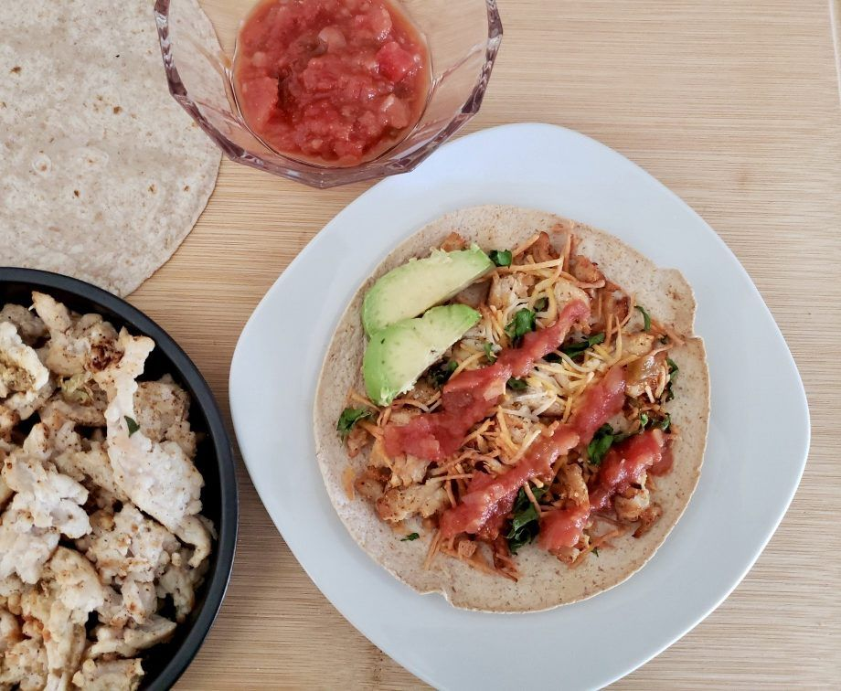 Air Fryer Mexican Pizza Healthy pizza recipes