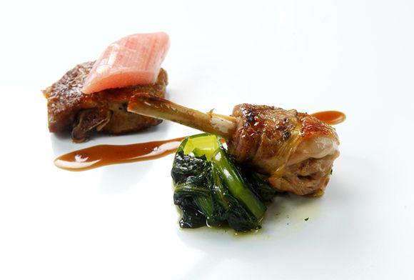 Photo of Guinea fowl, fire, rhubarb and black pepper recipe | Chef Maxima …