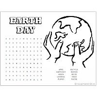 Earth Day Word Puzzles Craft  WORD PUZZLES  MAZES  Pinterest