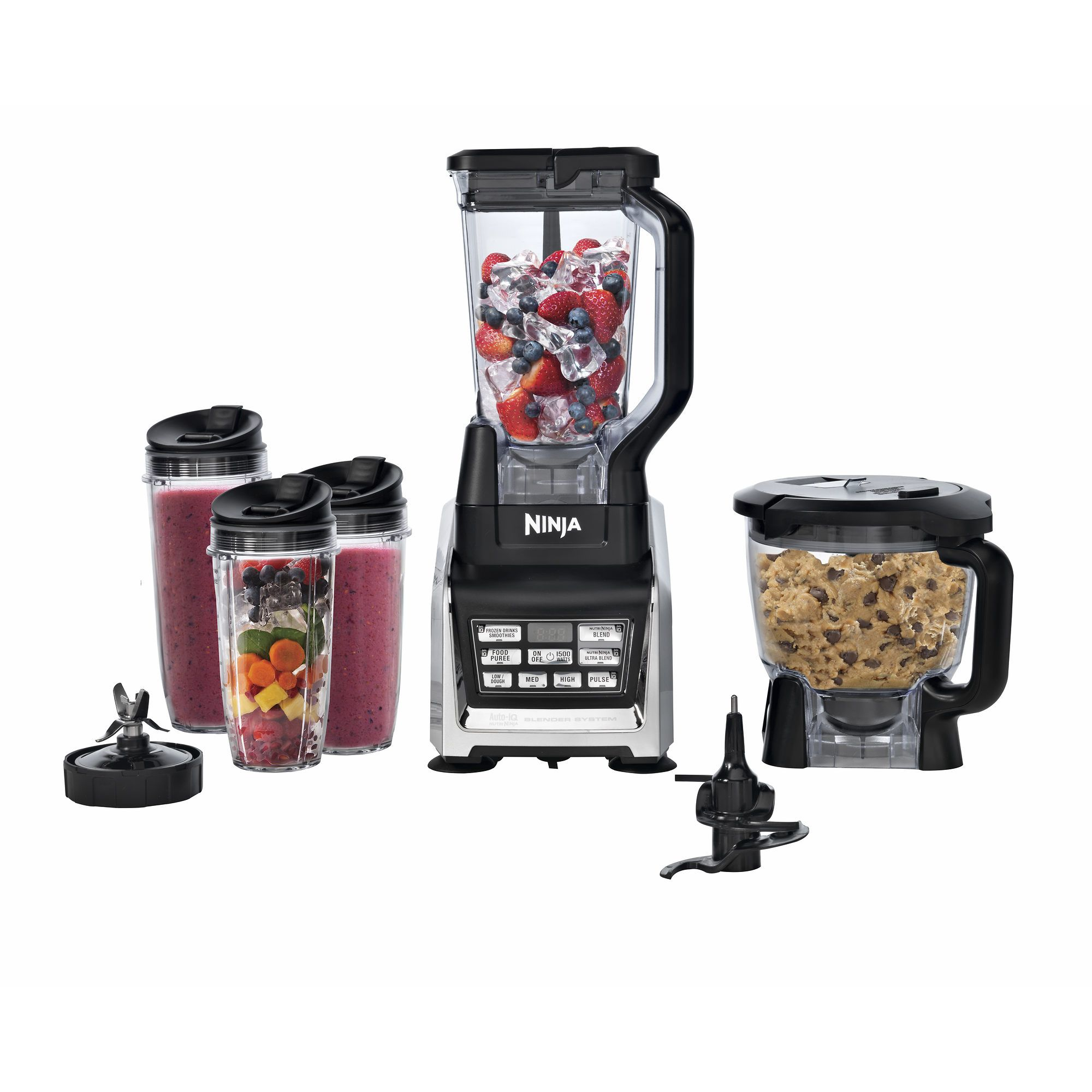 nutri ninja blender duo with auto iq everything s delicious in