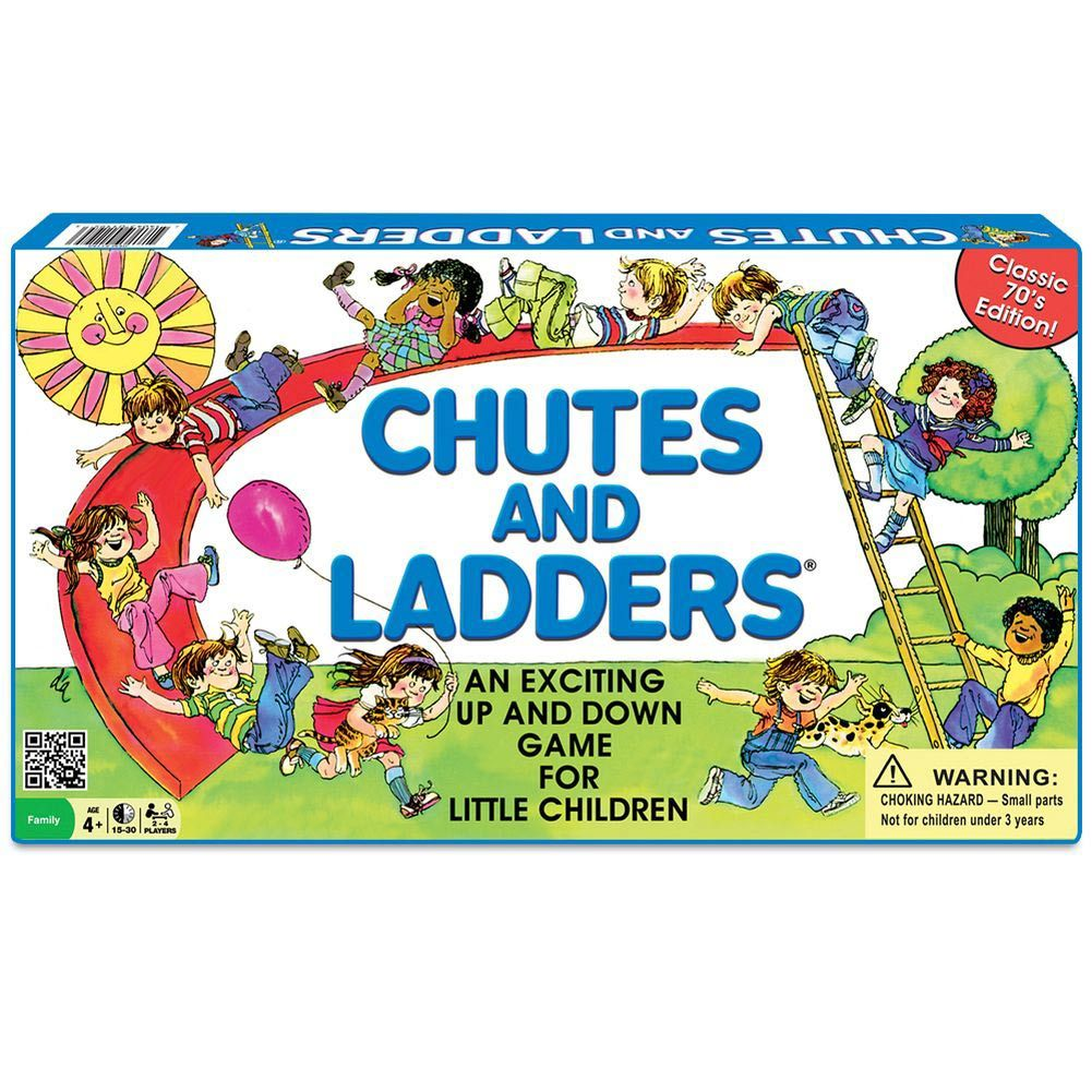 Chutes and Ladders Classic Board Game Classic board