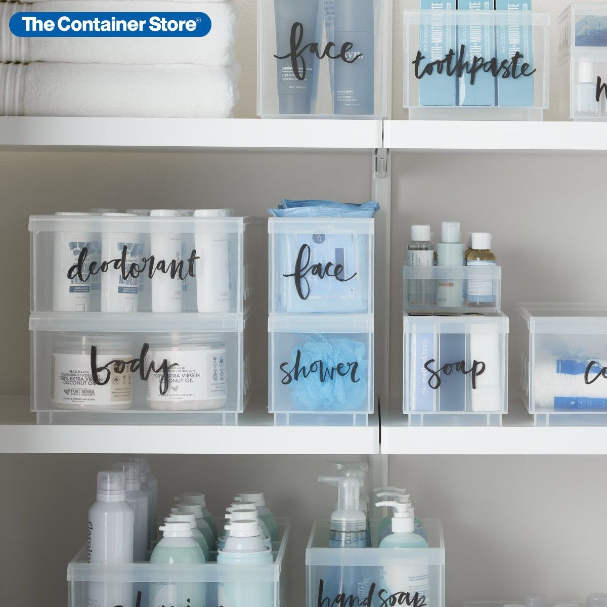 Clear Stackable Plastic Storage Bins Plastic Storage Bins Stackable Plastic Storage Bins Affordable Storage