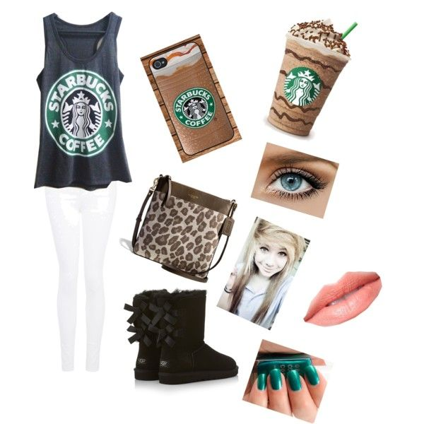 Starbucks outfit/white girl outfit - Polyvore - Starbucks Outfit/white Girl Outfit - Polyvore Diys Pinterest