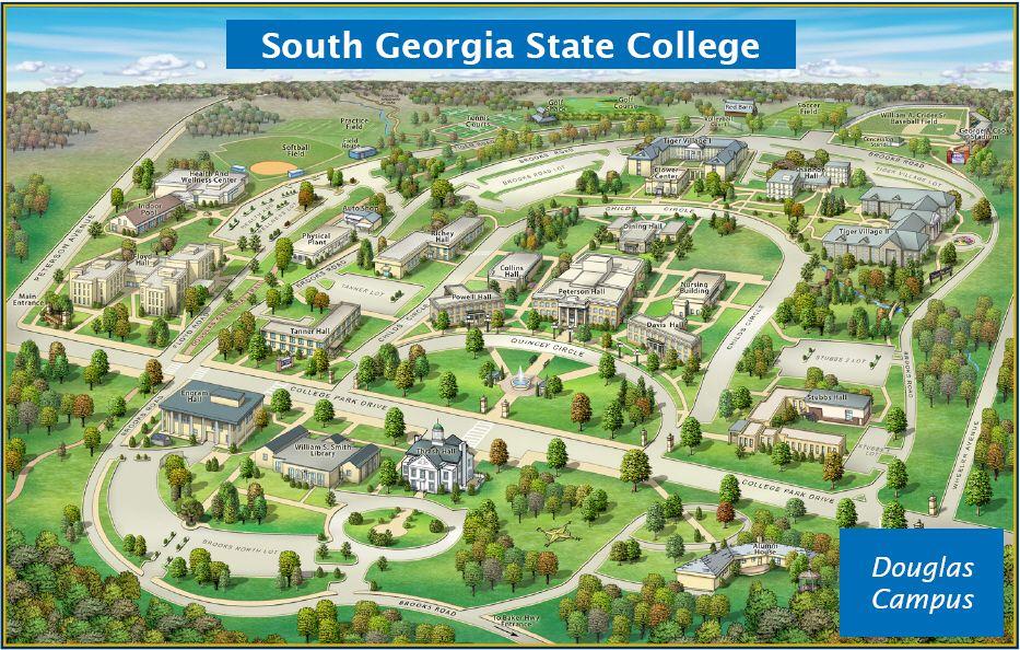 South Georgia State College Douglas Campus Work Ideas College