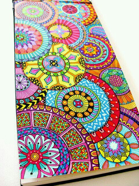 Pin von Vicky Villarreal auf Zentangle art♥ | Pinterest