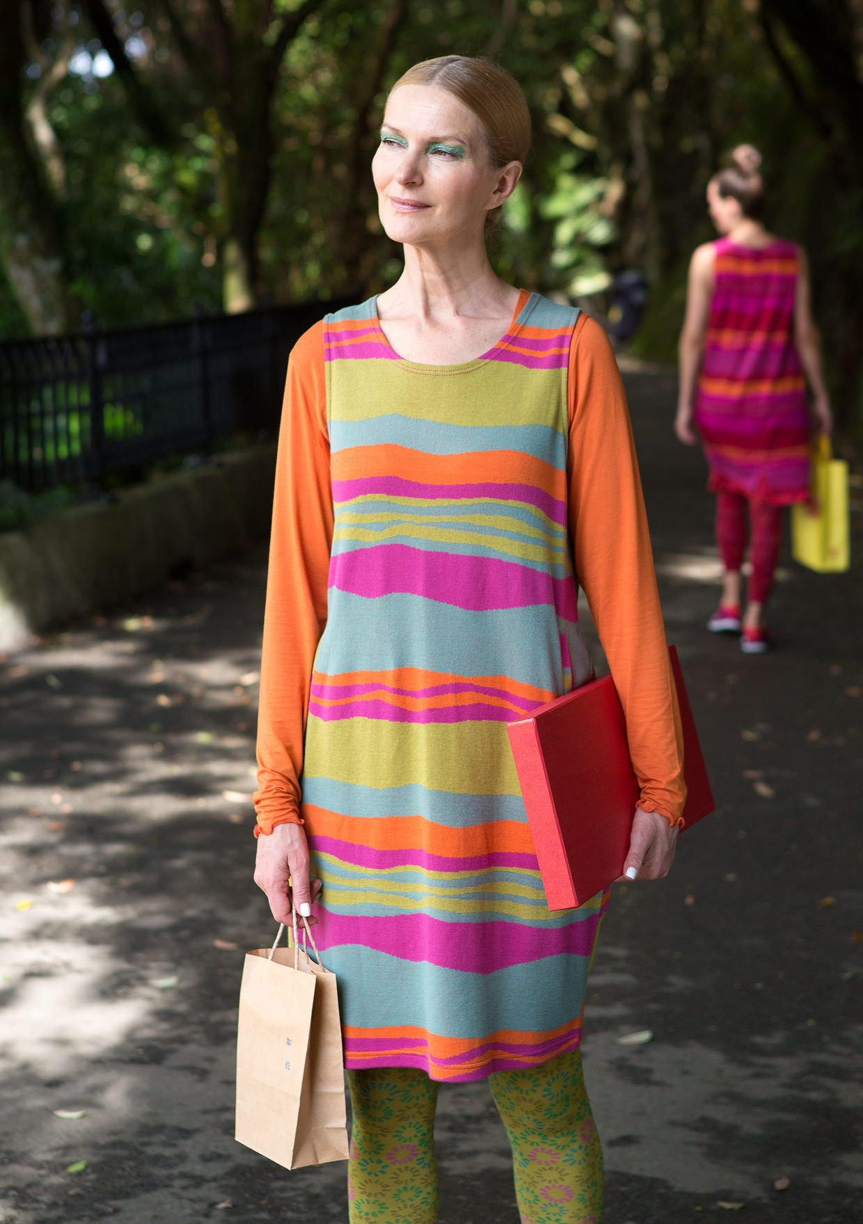 """Våg"" tunic in cotton – Skirts & dresses – GUDRUN SJÖDÉN – Webshop, mail order and boutiques 