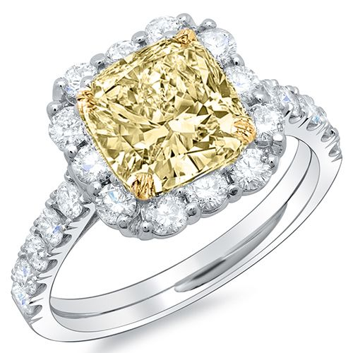 Pin On Canary Yellow Diamond Engagement Rings