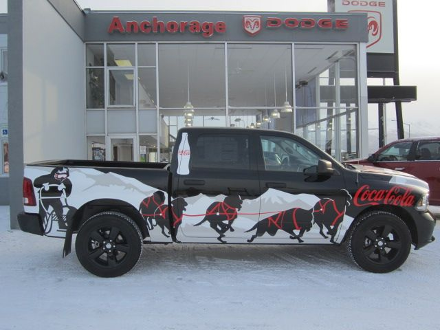 2014 Iditarod Truck Iditarod Chrysler Dodge Jeep Dog Sledding