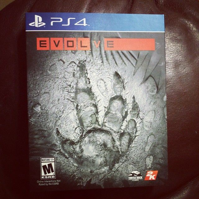 About to give #Evolve a shot!