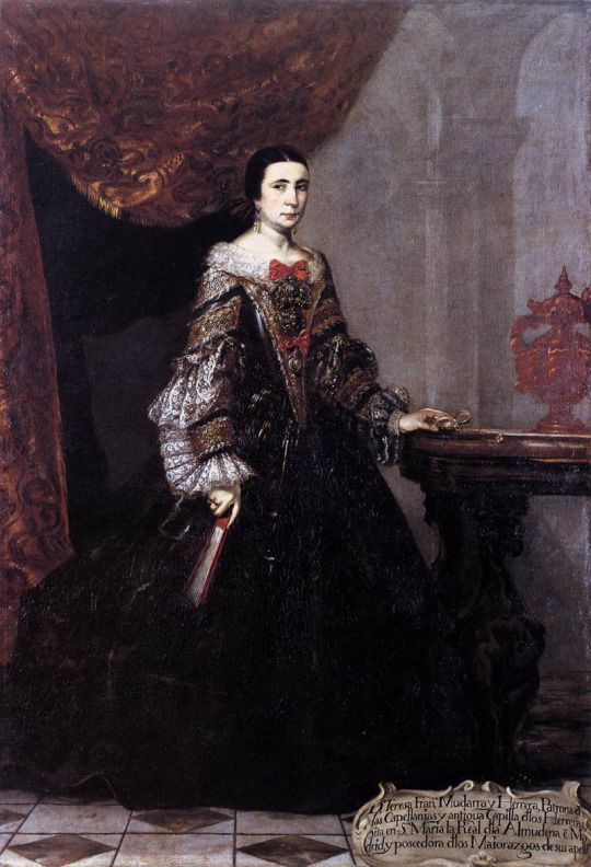 1690 Claudio Coello Portrait Of Teresa Francisca Mudarra Y