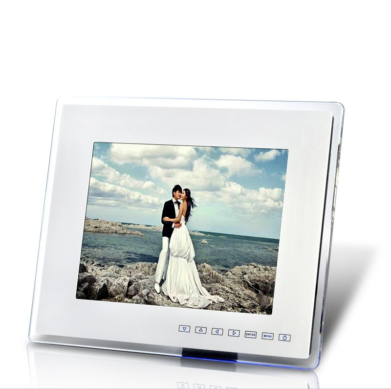 12 Inch Digital Photo Frame and Media Player with Remote Control ...