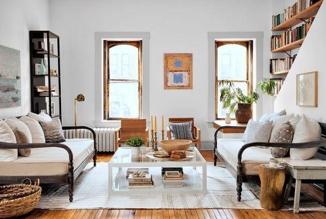 Wohnzimmer im Landhausstil gestalten – 55 gemütliche Ideen ...