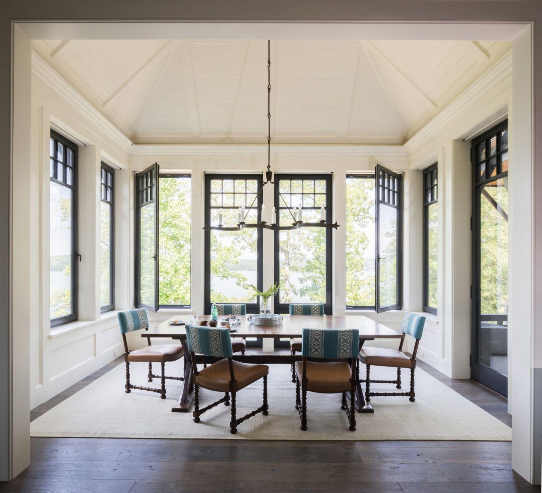 Lake Keowee Shope Reno Wharton Dining Room Interiors Fresh House Lake Houses Exterior