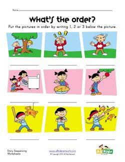 Story Sequence Worksheet Sequencing Worksheets Sequencing Kindergarten Story Sequencing Worksheets