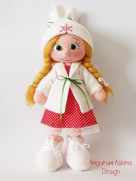 Amigurumi New Year Doll | Amigurumi | Pinterest | Patrones amigurumi ...