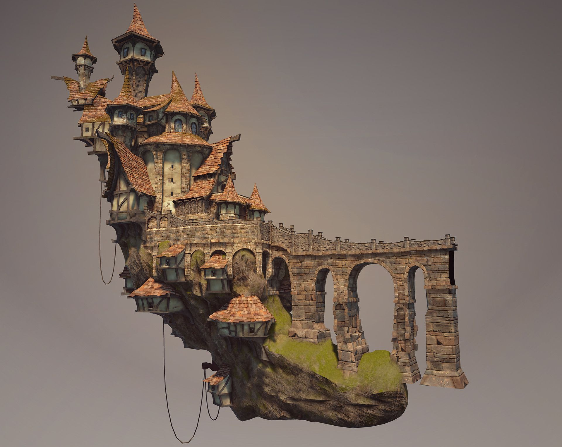Artstation fable legends alex jerjomin environment - Herreria ark ...