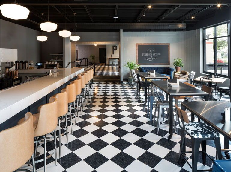 For Iowa'sHotel Grinnell,Perkins + Willtransformed a former junior high into a unique hotel that pays homage to the site's history.