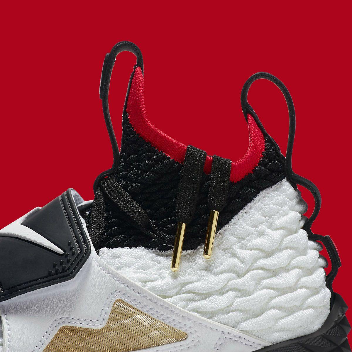 first rate 335f8 8cf9c Nike LeBron 15 Diamond Turf Release Date AO9144-100 Collar ...