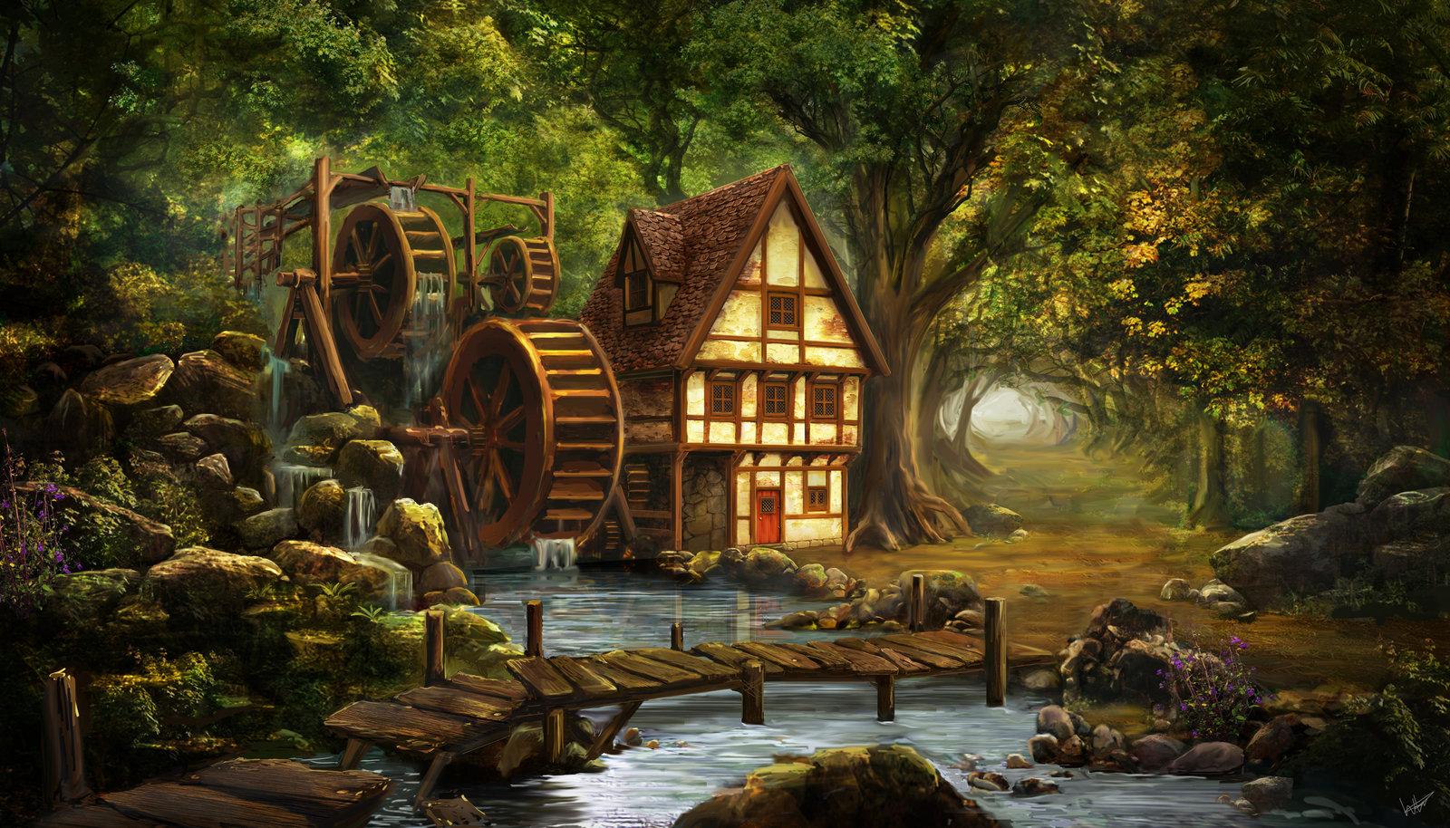 Дом картинка фантастика