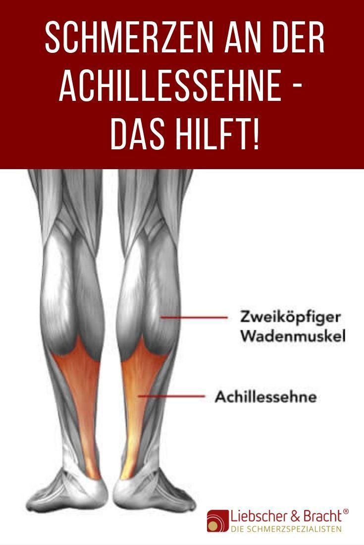 Schmerzen Achillessehne