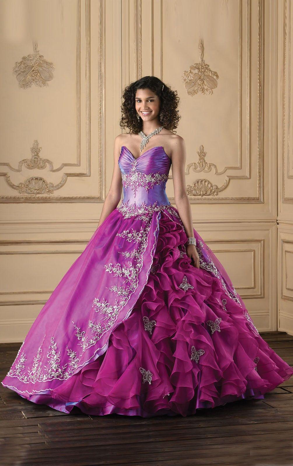 Beautiful Purple Wedding Gown   dress12/Wedding-Dresses/Beautiful ...