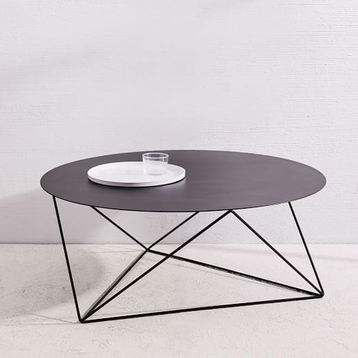 Amigo Modern Octahedron Coffee Table Black Coffee Tables Modern