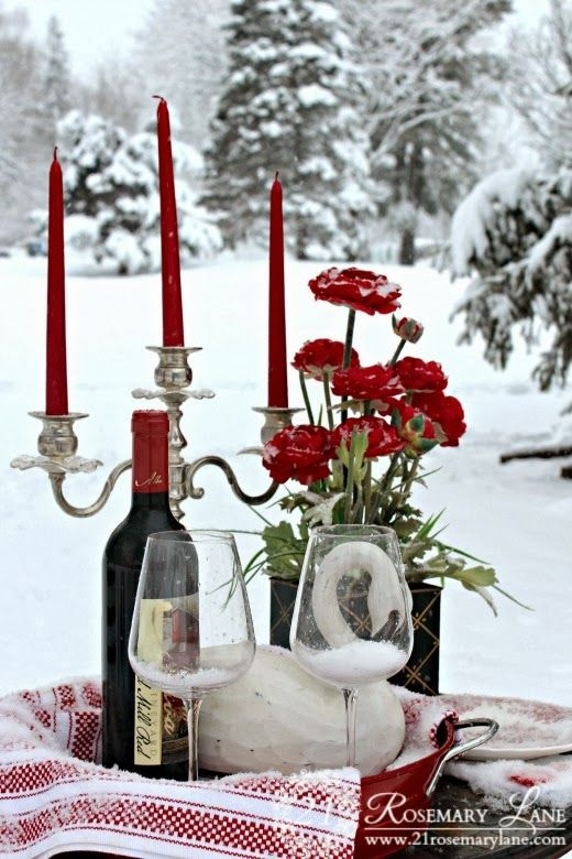 21 Rosemary Lane: A Valentine Wonderland Table for Two