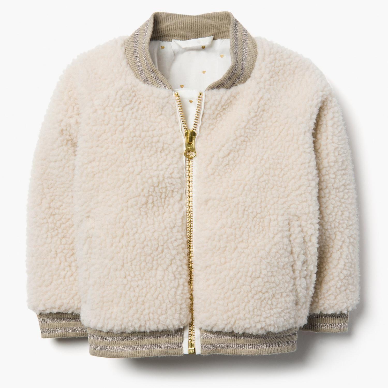 UK Baby Girls Winter Warm Toddler Coat Cloak Jacket Faux Fur Hooded Outerwear YU