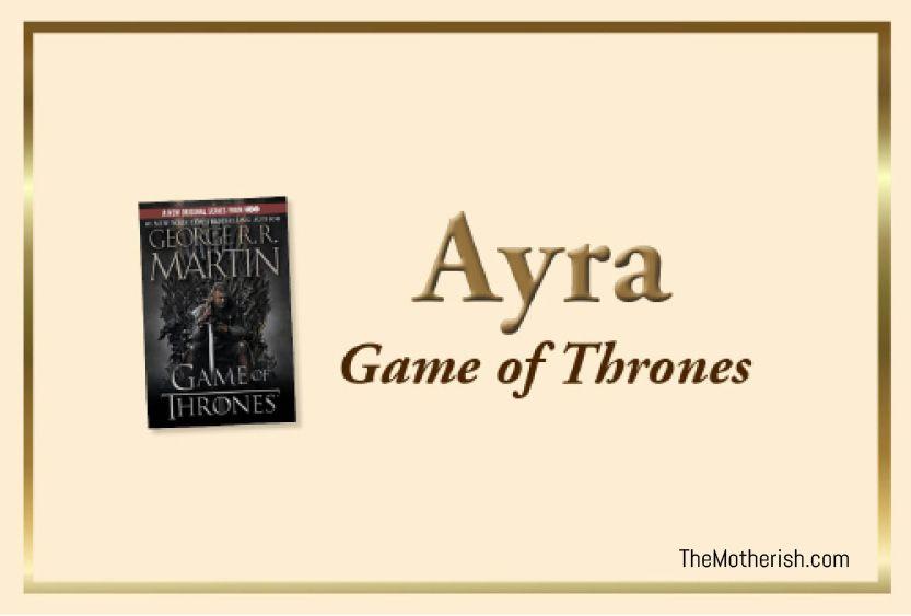 Ayra Stark   Worst baby names, Baby names, Name inspiration