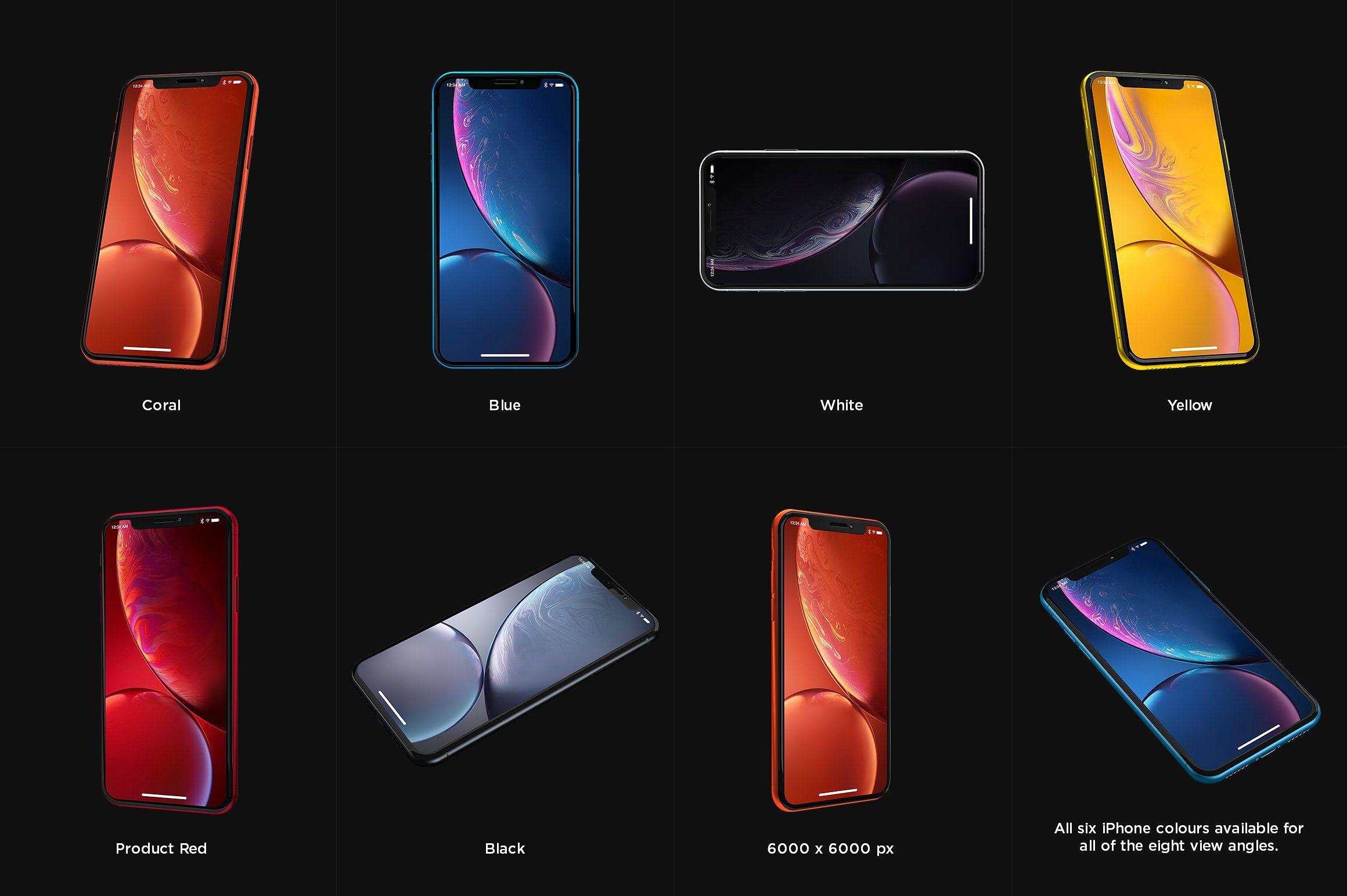 iPhone XR Design Mockup Mockup design, Iphone mockup, Iphone