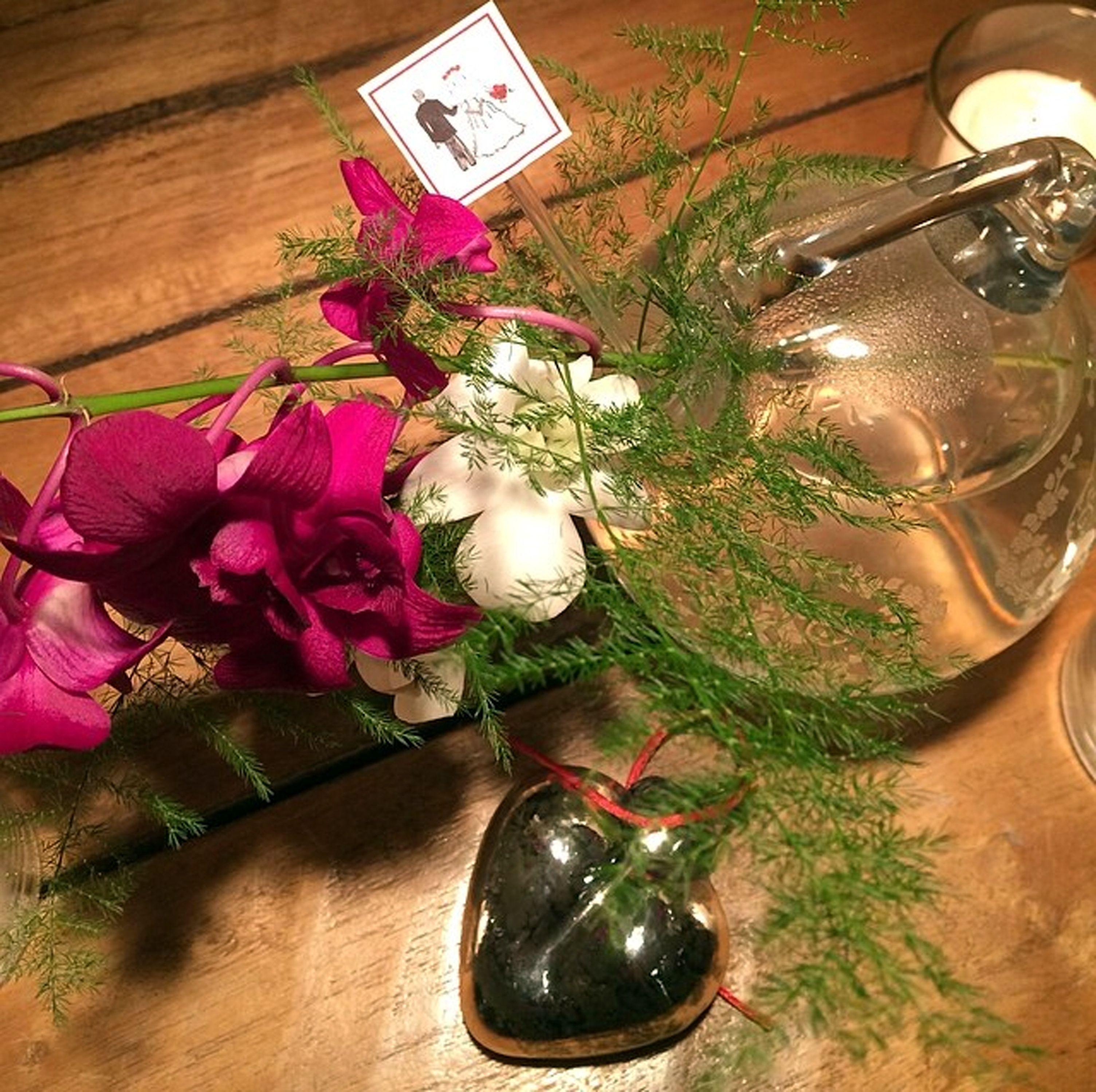 Orquídea e vidro