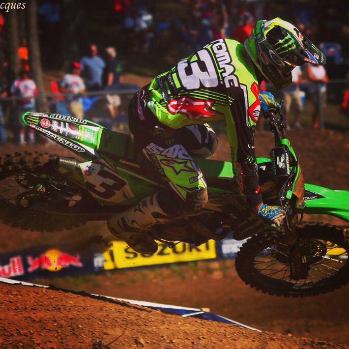 2016 Budds Creek Maryland Round 11 Eli Tomac 3 Team Kawasaki Monster Energy Bike Freestyle Motocross Supercross