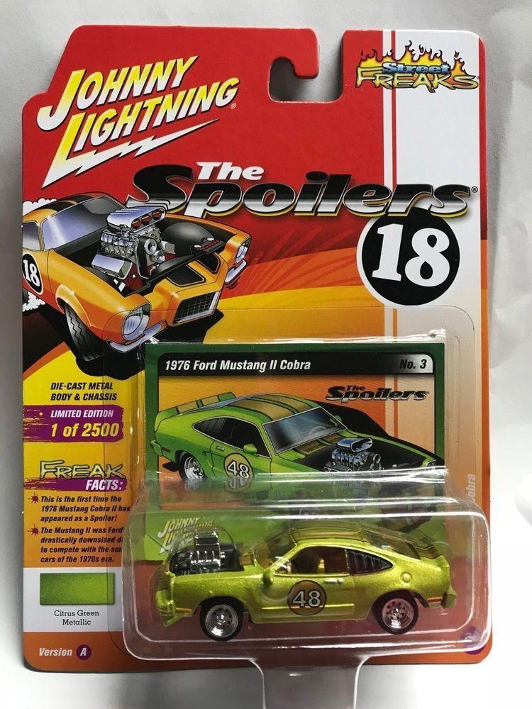 1 64 Johnny Lightning Street Freaks 2018 Rel 1a 1976 Ford Mustang Ii Cobra Johnnylightning Ford Ford Mustang Lightning Ford Mustang Cobra
