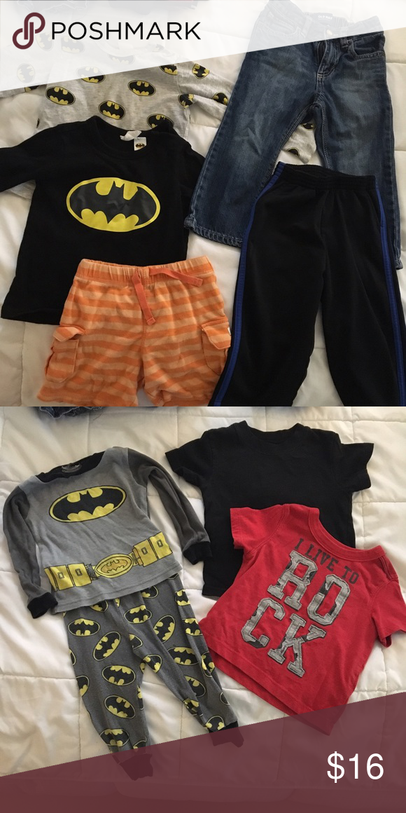 c4dbe7421419 12 months boy bundle Bateman long sleeve and 9-12 months from h m ...
