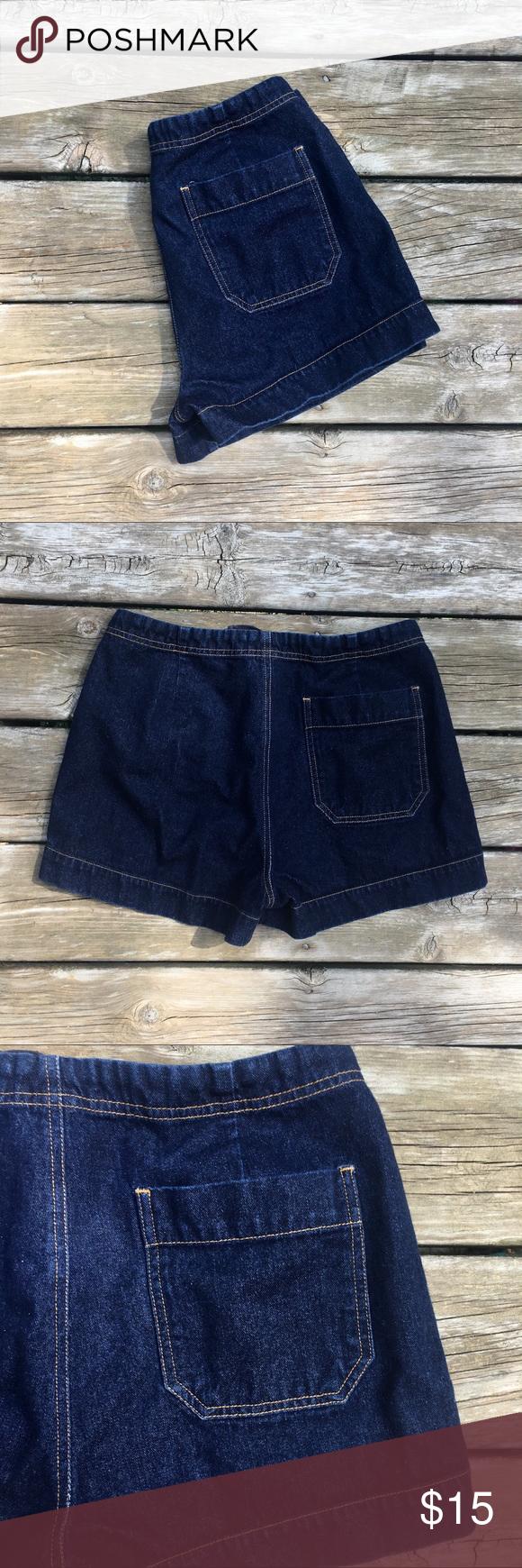 d262073068 SO GSJC Denim Jean Tie 5-Pocket Size 11 Shorts
